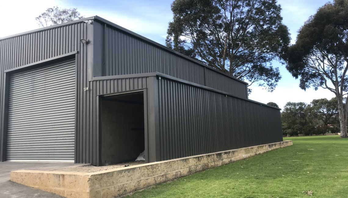 Shed construction_ lean-to shed extension perth